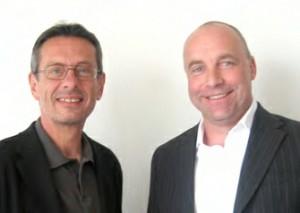 Im Bild: Günther Mania (links), Udo Besser (rechts)
