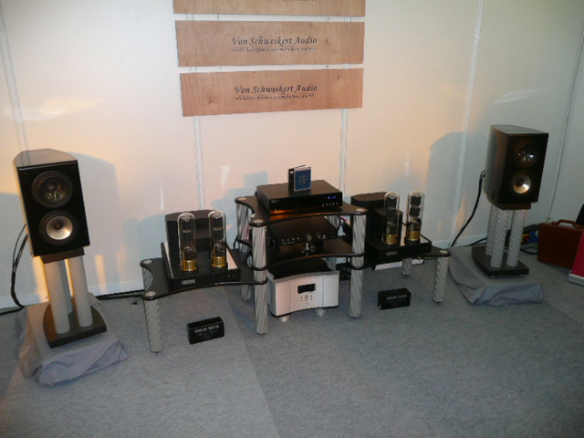 high end 2009 hifi anlage von schweikert audio kr audio. Black Bedroom Furniture Sets. Home Design Ideas
